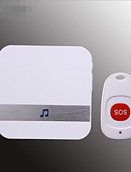 cheap -Smart home wireless DC alarm old caller month child care wireless remote control doorbell one for one