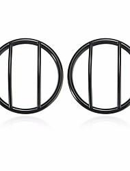 cheap -2pcs Turn Signal Light Cover GrillE-mounted For Jeep Wrangler JK 2007-2015
