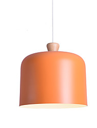 cheap -Globe / Cylinder Pendant Light Downlight Painted Finishes Metal New Design 110-120V / 220-240V