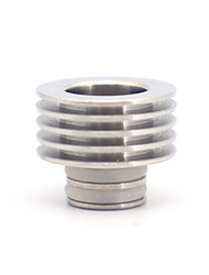 cheap -Stainless steel 510-510 Drip Tip adapter with heat dissipation function