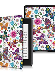 cheap -Case For Amazon Kindle Lite(2019) / Kindle PaperWhite 4 2018 Shockproof / Flip / Ultra-thin Full Body Cases Butterfly Hard PU Leather