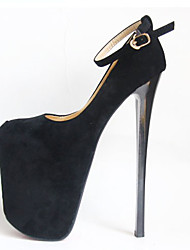 cheap -Women's Heels Stiletto Heel Closed Toe Synthetics British / Minimalism Fall / Spring & Summer Black / Beige / Wedding / Party & Evening