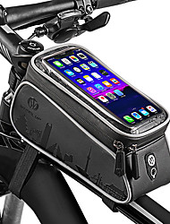 cheap -Wheel up Cell Phone Bag 6 inch Waterproof Cycling for Cycling Dark Gray Mountain Bike / MTB Road Bike Outdoor Exercise