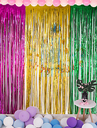 abordables -décorations de vacances objets de décoration du nouvel an décoratif violet / rouge / argent 1pc