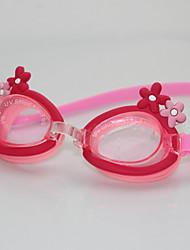 Недорогие -плавательные очки очки кейс Тренировки Нет утечки Удобный Для Детские Поликарбонат Поликарбонат Другое Прозрачный
