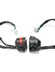 cheap -Motorcycle 7/8 Inch Handlebar Horn Turn Signal Hi/Lo Beam Kill Light Start Switch