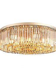 cheap -12 Bulbs QIHengZhaoMing 60 cm Flush Mount Lights Metal Brass Traditional / Classic 110-120V / 220-240V