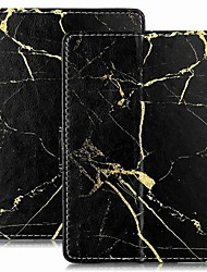 cheap -Case For Amazon Kindle PaperWhite 2(2nd Generation, 2013 Release) / Kindle PaperWhite 3(3th Generation, 2015 Release) / Kindle PaperWhite 4 Wallet / Card Holder / with Stand Full Body Cases Marble