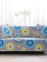 cheap -Sofa Cover Solid Colored / Print / Contemporary Reactive Print / Printed / Quilted Polyester Slipcovers