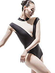 cheap -Ballet Leotards Women's Training Polyester Split Joint Sleeveless Leotard / Onesie