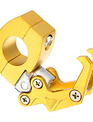 cheap -CNC Aluminum 7/8 Inch 22mm Handlebar Motorcycle Luggage Helmet Hanger Hook