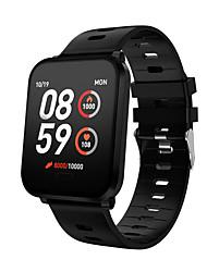 Недорогие -K10 умные часы ip68 водонепроницаемые мужчины женщины кислород крови кровяное давление фитнес-трекер сообщение напоминание спорт smartwatch