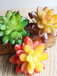 cheap -Artificial Flowers 1 Branch Classic Modern Pastoral Style Eternal Flower Succulent plants Tabletop Flower