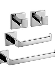 cheap -Bathroom Accessory Set New Design / Creative Contemporary / Traditional Metal 4pcs - Bathroom Wall Mounted