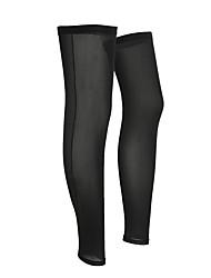 cheap -1 Pair Leg Warmers / Knee Warmers UPF 50 Lightweight Sunscreen Bike Black for Men Women Adults' Road Bike Mountain Bike MTB Fishing / UV Resistant / Breathable / Quick Dry