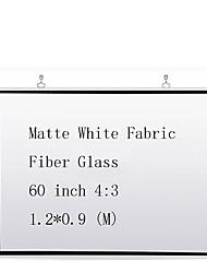 Недорогие -4:3 60 дюймовый Стекловолокно Экран с креплением на стену
