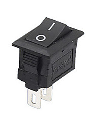 cheap -5PCS/Set 2 Pin Snap-in On/Off Position Snap Boat Button Switch 12V/110V/250V T1405 P0.5