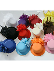cheap -Tulle / Feather Fascinators with 1 Wedding / Special Occasion Headpiece