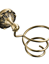 cheap -Hair Dryers New Design Antique / Country Brass 1pc - Bathroom / Hotel bath Wall Mounted
