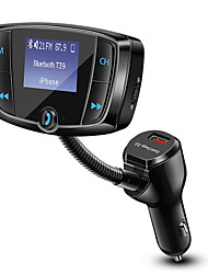 Недорогие -Muzili T39 Bluetooth FM-передатчик автомобильный mp3-плеер QC3.0 USB зарядное устройство