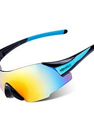 abordables -article de sport de lunettes de moto unisexe regards pp + abs / eva de haute qualité