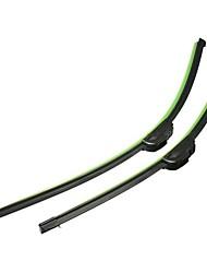 Недорогие -1 пара 24 дюйма 19 дюймов универсальный j-крюк стеклоочистителя ветрового стекла