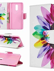 cheap -Case For LG LG V30 / LG V20 / LG Stylo 4 Wallet / Shockproof / with Stand Full Body Cases Flower Hard PU Leather / LG G6