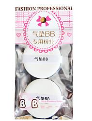abordables -coussin d'air bb crème feuilletée spéciale bb éponge ronde universelle maquillage sec et humide éponge maquillage bouffée