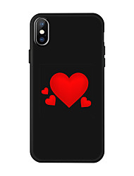 cheap -Love  Shape  Case for  iPhone Xs Max  /8 /7 Plus /  6S / 6 PLUS / XR / XS  /X /  8/  7/   6  /6S