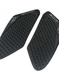 cheap -Motorcycle Tank Pad Protector Sticker Decal Tank Traction Pad with 3M Fit for Honda