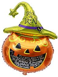 Недорогие -Праздничные украшения Украшения для Хэллоуина Декоративные объекты Декоративная Оранжевый 1шт
