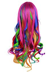 cheap -Cosplay Harajuku Girls Cosplay Wigs Women's 70 inch Synthetic Fiber Adults' Anime Wig / Headwear / Headwear