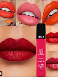 cheap -Sexy 6 Color Liquid Matte Lip Gloss Powder Sponge Lip Gloss Lip Gloss