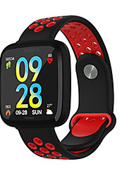 cheap -F15 Smart Bracelet Heart Rate Monitor Blood Pressure Blood Oxygen Band Remote Camera Music Control Clock pk Fitbits