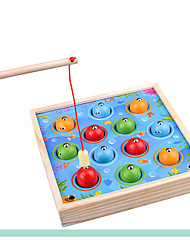 cheap -Fishing Toy Parent-Child Interaction Wooden Child's All Toy Gift