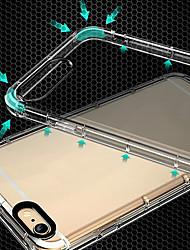 cheap -For iPhone 7/8/7Plus/8Plus/X/6/6s/I5/5S/SE Transparent TPU Shockproof Full Protection Back Case Cove