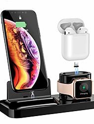 cheap -Wireless Charging Base Bracket For AirPods2 IPhone IWatch4 Three-in-one Magnetic
