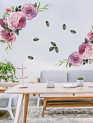 Недорогие -наклейки на стену из цветущих цветов - слова&ампер цитаты стикеры на стенах персонажей кабинет / кабинет / столовая / кухня