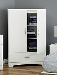 Недорогие -белый шкаф для хранения одежды шкаф шкаф с нижним ящиком