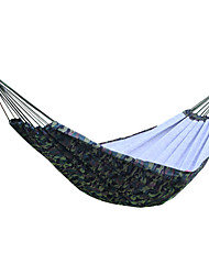 cheap -Camping Hammock Outdoor Breathability Oxford Cloth for 1 - 2 person Camping Camouflage 200*150 cm