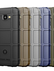 cheap -Phone Case For Samsung Galaxy Back Cover J4 Shockproof Solid Color Soft TPU