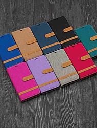 Недорогие -чехол для яблока iphone xr / iphone xs max магнитный / откидной / с подставкой для всего корпуса футляр для плитки твердый текстиль для iphone 5 / se / 5s / 6 / 6s plus / 7/8 plus / xs / x