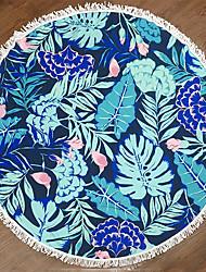 cheap -Superior Quality Beach Towel, Floral / Botanical 100% Polyester 1 pcs