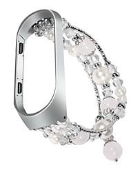Недорогие -ремешок для часов для mi band 3 / xiaomi mi band 4 xiaomi дизайн ювелирных изделий керамический ремешок на запястье