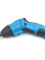 Недорогие -зарядка электрической отвертки пены оболочки синий домашний офис мини-дрель