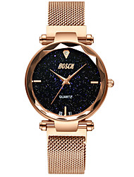cheap -Women's Mechanical Watch Quartz Water Resistant / Waterproof Analog Fashion - Black Rose Gold Purple