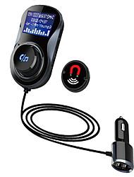 Недорогие -Беспроводной автомобильный Bluetooth FM-передатчик mp3 радио адаптер автомобильный комплект USB зарядное устройство