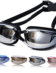 cheap -Swimming Goggles Swimming Silicone PC Others Silver