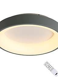 cheap -1-Light Flush Mount Lights Ambient Light Painted Finishes Acrylic LED Dimmable  Warm White / Dimmable With Remote Control / Cold White