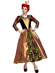 cheap -Alice in Wonderland Movie / TV Theme Costumes Queen of Hearts Cosplay Costume Party Costume Masquerade Costume Adults' Women's Cosplay Halloween Christmas Halloween Carnival Festival / Holiday